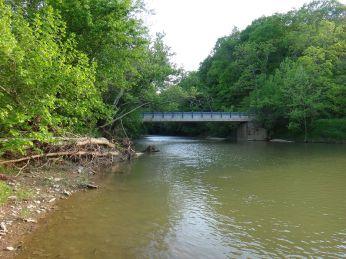 Bear Creek is running high.