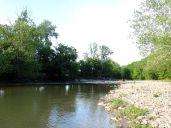Where Bear Creek runs into Laughery Creek.