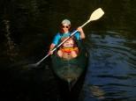 Cool paddler.